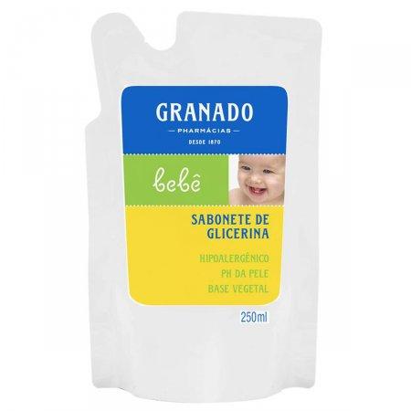 Refil Sabonete Líquido Granado Bebê Tradicional 250ml | Drogasil.com