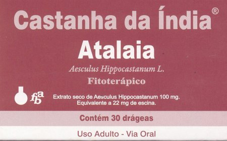 ATALAIA CASTANHA DA INDIA 30 DRAGEAS