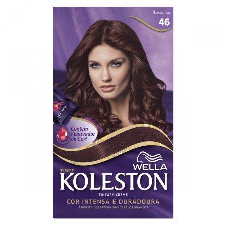 Tintura Creme Koleston Nº46 Borgonha