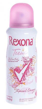 Desodorante Aerosol Rexona Teens Tropical Energy