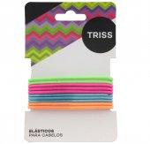 Elásticos Coloridos para Cabelos Triss