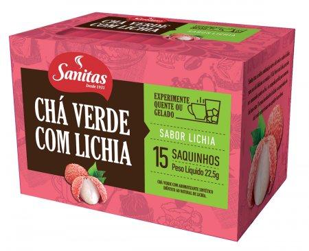 Chá Verde com Lichia