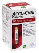 Tiras Accu-Chek Performa para Aferição