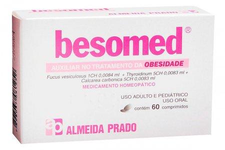 BESOMED EMAGRECEDOR 60 COMPRIMIDOS