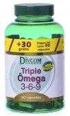 DIVCOM TRIPLE OMEGA 3-6-9 COM 60 CAPSULAS