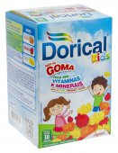 DORICAL KIDS GOMA COM 30 UNIDADES