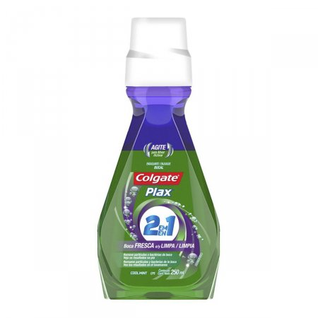 COLGATE PLAX ENXAGUANTE BUCAL COOL MINT 2 EM 1 500 ML