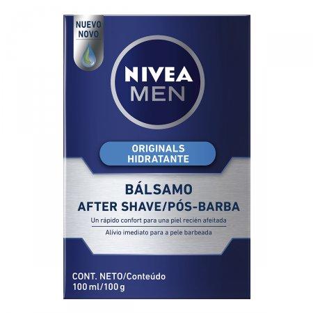 NIVEA FOR MEN BALSAMO APOS BARBA SUAVE COM MINERAIS MARINHOS E VITAMINAS 100ML