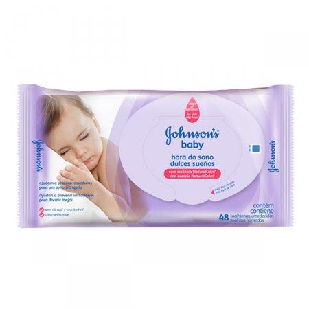 Toalhas Umedecidas Johnson's Baby Hora do Sono