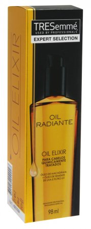 Óleo Elixir Tresemmé Oil Radiante para Cabelos Quimicamente Tratados