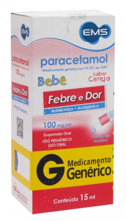 Paracetamol Bebê 100mg