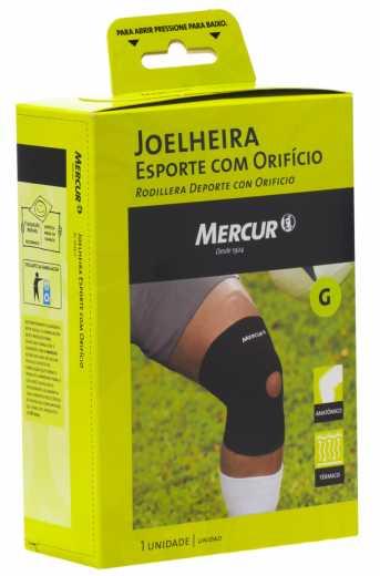 4a3f12800 Joelheira Esporte com Orifício Tamanho G