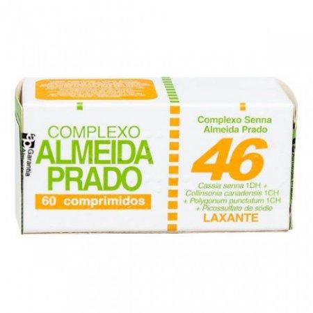 ALMEIDA PRADO COMPLEXO HOMEOPATICO Nº 46 60 COMPRIMIDOS
