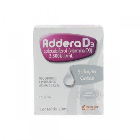 ADDERA D3 SOLUCAO 20 ML