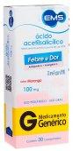 Ácido Acetilsalicílico 100mg Infantil