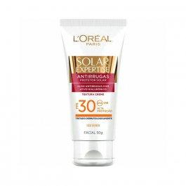 Protetor Solar Facial L'oréal Expertise Antirrugas Oil-Free FPS 30 com 50g