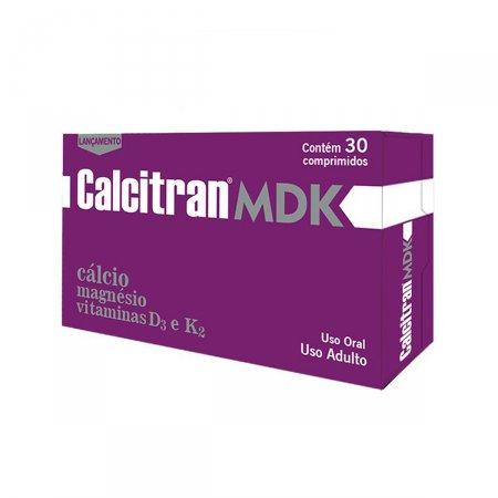 Calcitram MDK 30 comprimidos Divcon | Drogasil