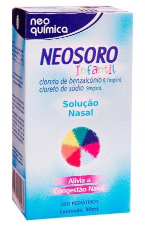 NEOSORO DESCONGESTIONANTE INFANTIL SOLUCAO 30ML