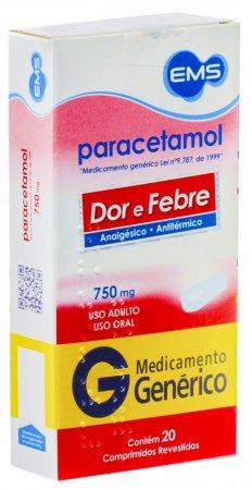 Paracetamol 750 mg