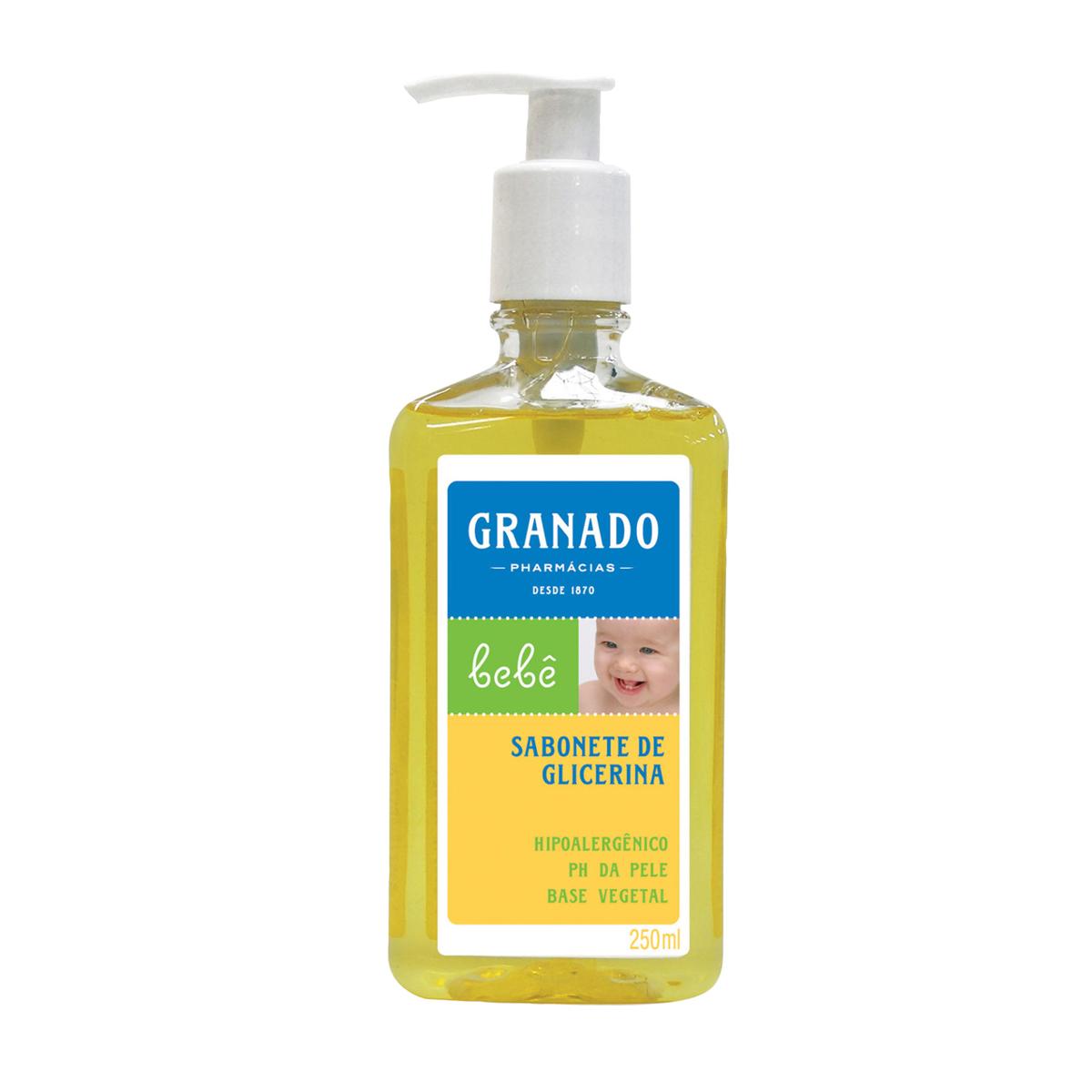 Sabonete Líquido de Glicerina Granado Bebê Tradicional com 250ml 250ml