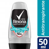 REXONA WOMAN DESODORANTE ROLL ON ANTIBACTERIAL FRESH 50ML