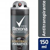 Desodorante Aerosol Rexona Men Fanatics