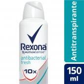 REXONA WOMAN DESODORANTE AEROSOL ANTIBACTERIAL FRESH 90G