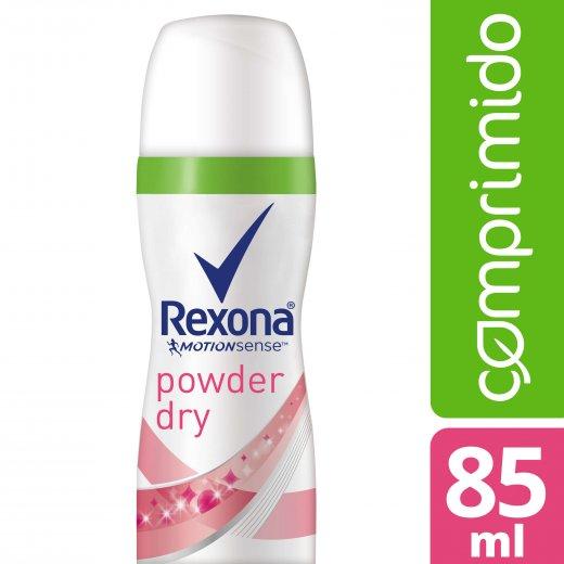 ec203b912a Desodorante Aerosol Rexona Comprimido Powder Dry 85 ml