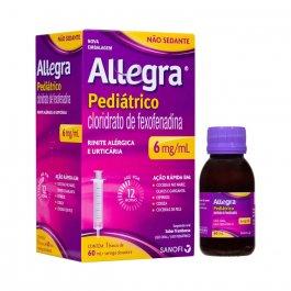 Antialérgico Allegra Pediátrico 6mg/ml com 60ml