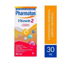 Suplemento Alimentar Pharmaton Vitawin 2 Sabor Caramelo com 30ml
