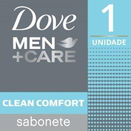 Sabonete em Barra Dove Men Care Clean Comfort com 90g