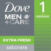 Sabonete em Barra Dove Men Care Extra Fresh
