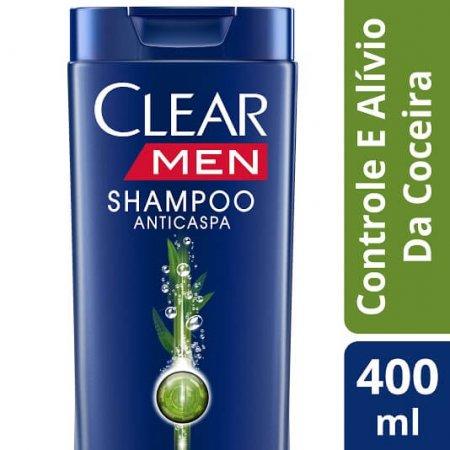 Shampoo Anticaspa Men Controle e Alívio da Coceira