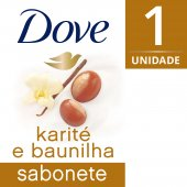 Sabonete em Barra Dove Manteiga de Karité