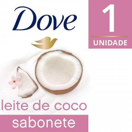 DOVE SABONETE LEITE DE COCO 90G