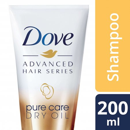 Shampoo Dove Pure Care Dry Oil