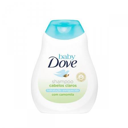 Shampoo Baby Dove Hidratação Enriquecida Cabelos Claros