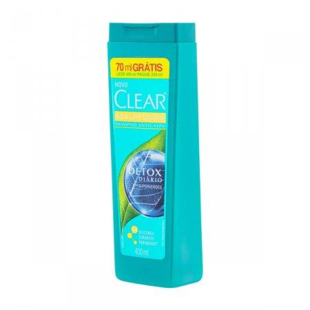 Shampoo Clear Detox Diário 400ml | Drogasil.com Foto 2