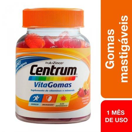 CENTRUM VITAGOMAS MIX DE FRUTAS COM 30 GOMAS