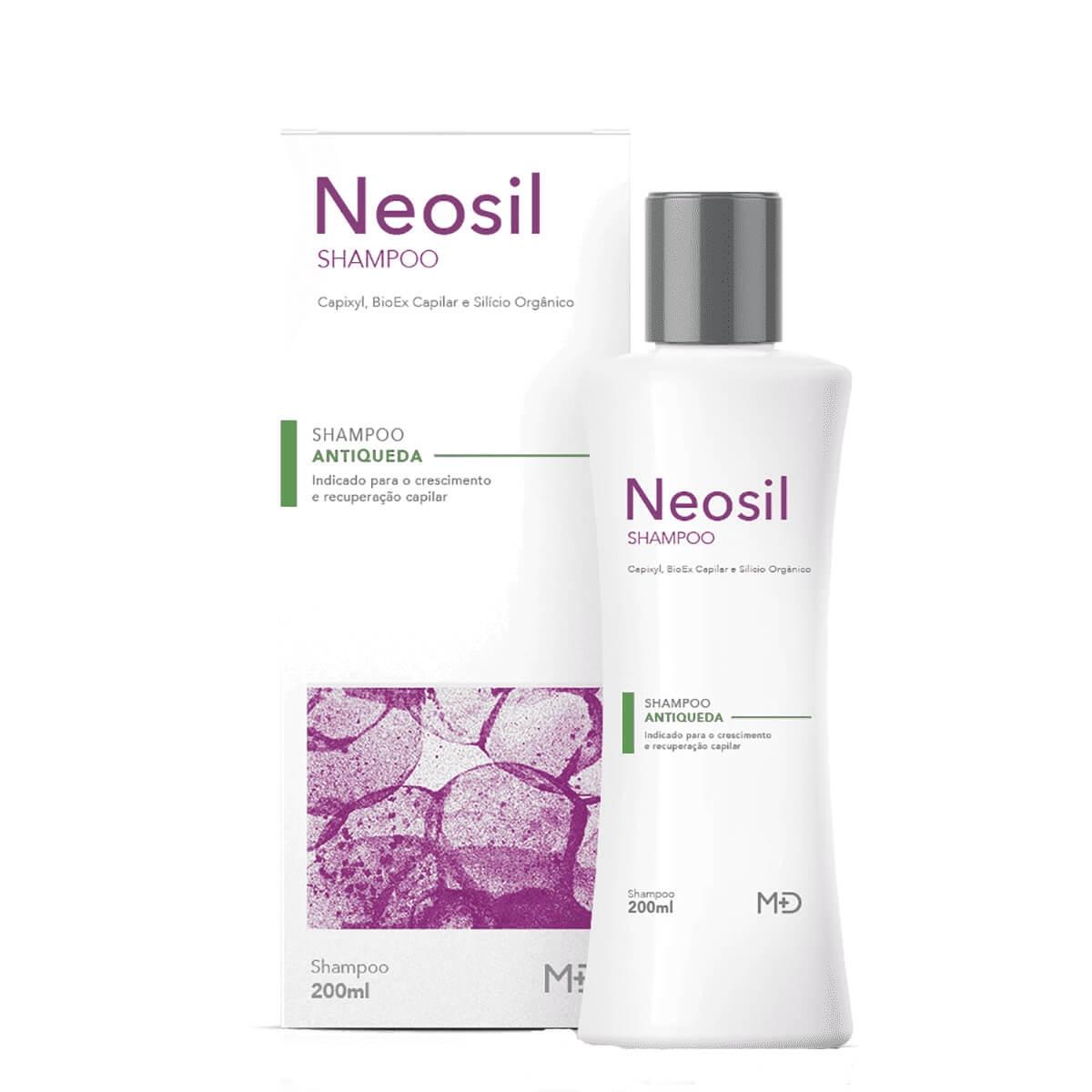 Shampoo Neosil Antiqueda com 200ml Germed 200ml