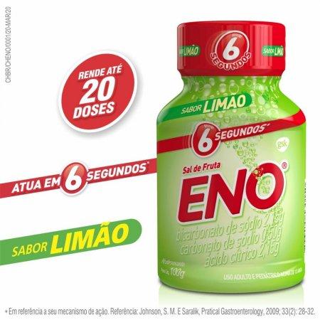ENO SAL DE FRUTAS REGULAR SABOR LIMAO 100G