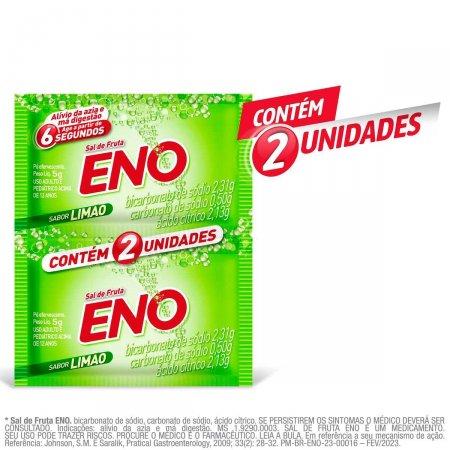 ENO SAL DE FRUTAS LIMAO ENVELOPE 2 SACHES COM 5G CADA