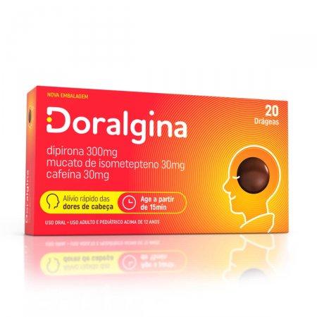 Doralgina 20 Drágeas Neo Química   Drogaraia.com Foto 1