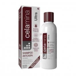 Shampoo Anticaspa Celamina Ultra Glenmark com 150ml