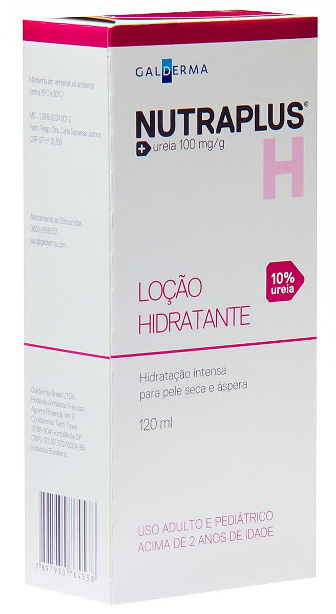 Loção Hidratante Nutraplus 10% Ureia Pele Seca e Áspera com 120ml 120ml