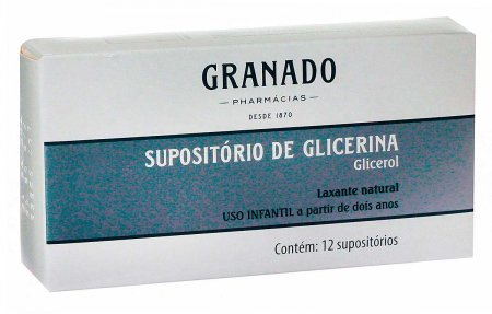 Supositório de Glicerina Pediátrico