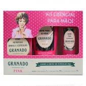 Kit Pink Essencial para mãos