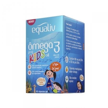 EQUALIV OMEGA 3 KIDS 60 CAPSULAS