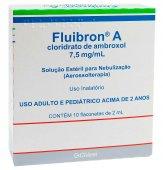 FLUIBRON A 15 MG FLACONETES NEBULIZACAO 10X2 ML
