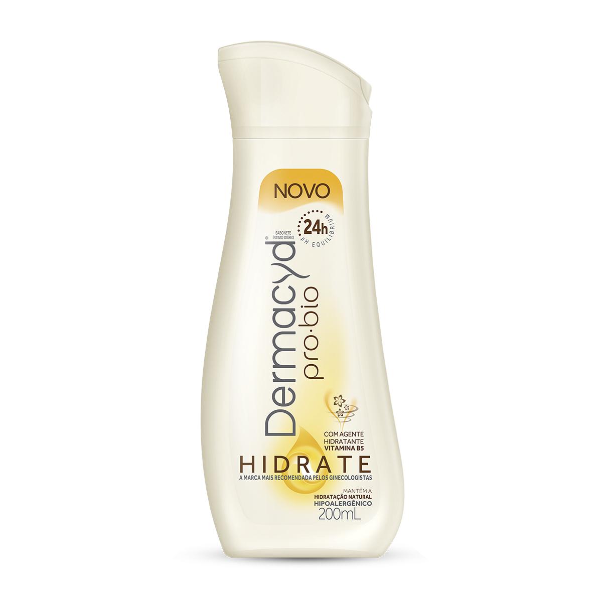 Sabonete Líquido Íntimo Dermacyd Pro-Bio Hidrate com 200ml 200ml
